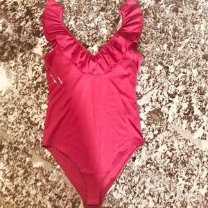 Socialite Women's Medium Pink Trendy Body Suit